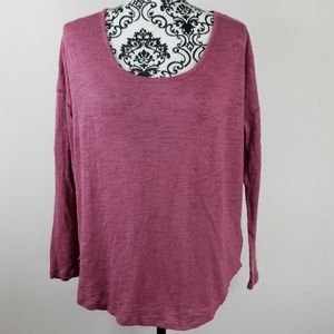 Women's Lucy and Laurel Small Long-sleeved blouse
